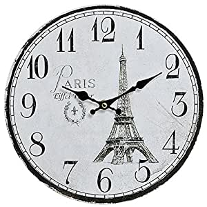 Horloge murale Paris tour eiffel 29cm