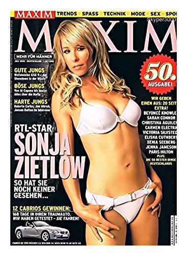Maxim, Heft 07/2005 - Sonja Zietlow