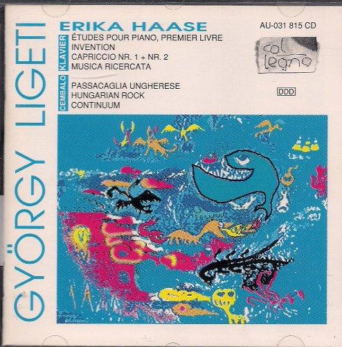 György Ligeti / Erika Haase Klavier und Cembalo