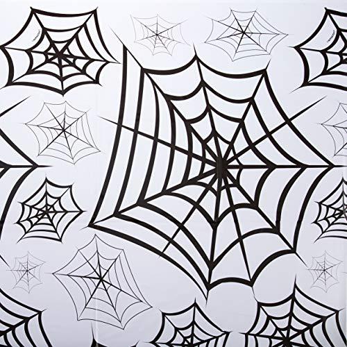 amscan International 578122Spinnen klar Web Kunststoff Tisch, 2,7x (Spinne Kostüm Gesicht Malen)