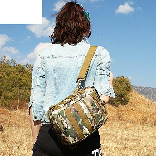All'aperto grande borsa a tracolla/ amanti versatile Messenger Borsa/ outdoor trekking zaino-H B