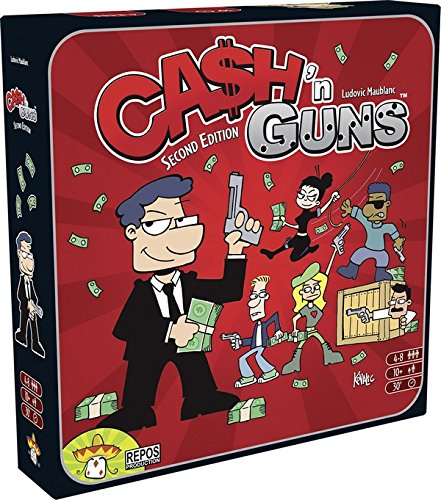 Asmodee–Gesellschaftsspiel–cash' N Guns