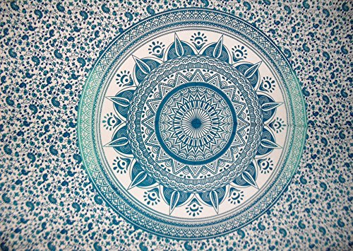 Tradicional Jaipur Mandala, decoración de la pared, Pegatina de Pared Indio, Hippie...