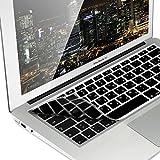 kwmobile Silikon Tastaturschutz QWERTY (Arabisch) für Apple MacBook Air 13''/Pro Retina 13''/15'' (bis Mitte 2016) Schwarz