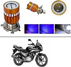 AutoStark High Quality H4 Bike Led Head Light Multi for Honda CBF Stunner