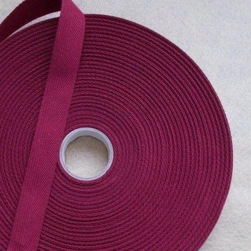 kraftz–Baumwollband 12mm 50m Rolle für das Schneiderhandwerk Nähen wein