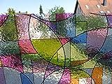Linea Fix® Fensterfolie 46 x 200 cm GLS 4652 Buntglas statische Dekorfolie selbsthaftend