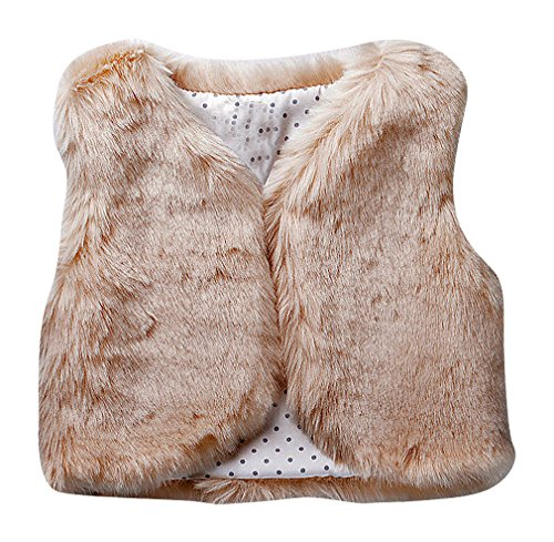 zamot-girls-fake-fur-dotted-flower-inner-print-hidden-closure-rounded-edge-vest-beige-3-yrs