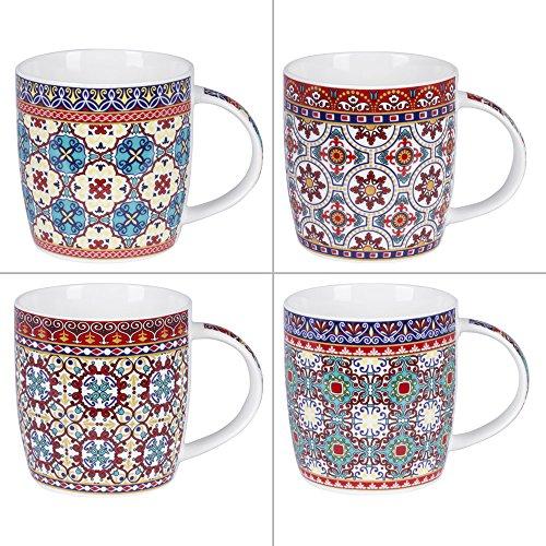 trendup-mug-dejeuner-30cl-carreaux-ciment-assorti-lot-de-4