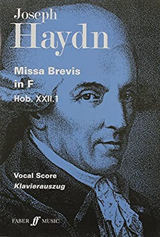 Missa Brevis in F: Vocal Score (Satb