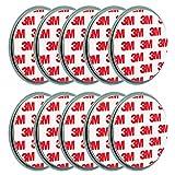 10x ECENCE Magnetbefestigung / Magnethalter für Rauchmelder 45020108010