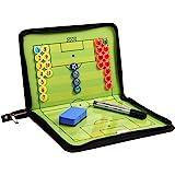 RoseFlower 44 x 32 CM Lavagna Magnetica Calcio, Cartella Tattica per Allenatore di Calcio - Lavagna Calcio per Organizzazione