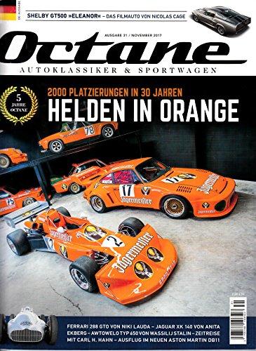 Octane #31 2017 Ferrari 288 GTO Niki Lauda Zeitschrift Magazin Einzelheft Heft