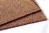 Korkplatten 10mm Stärke 100 x 50 cm , 10 Stück 5qm Dämmkork Trittschalldämmung/ Hausdämmung / Trockenestrich / Spanplatten / Wanddämmung