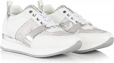 ALVIERO Martini 1°Classe Z P863 205A Sneakers Scarpe Donna Lacci Pelle White (40 EU)
