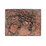 Yumimi88 Aquarium Hintergrund Board 3D Foam Rock Reptile Stein Aquarium Hintergrund Aquarium Board Decor 60 x 45 x 4cm (F)