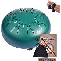 Mini Instrument /à Percussion Tambour de Langue Frapper au Bout des Doigts 4 Paquets