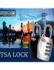 Bazaar Naturehike TSA 4 Dial Code Sperre Reise Gepäck Lock Zoll Vorhängeschloss Anti-Diebstahl-Sicherheit