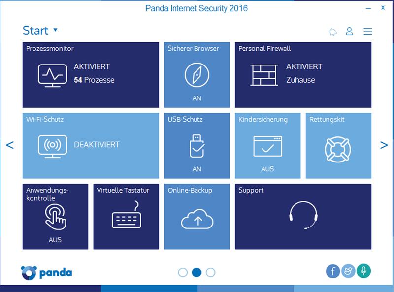 Panda Internet Security 2016 - 3 User / 12 Monate [Online Code] - 6