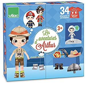 Vilac Vilac2801 Adventures of Arthur, Multicolor alfonbrilla para ratón