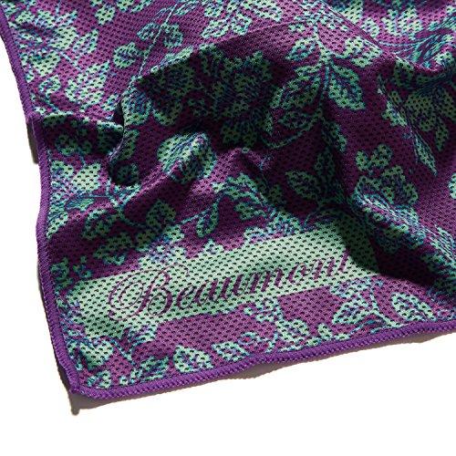 Beaumont BFS2525-VL Flötenputztuch violette spitze