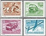 Mongolei 764-767 (kompl.Ausg.) 1973 Freimarken: Verkehrsmittel (Briefmarken für Sammler)