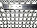 RIFFERT Edelstahl Siebgewebe/Gaze MW-2,5 mm
