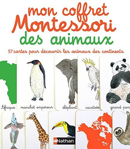 Mon coffret Montessori des animaux par Eve Herrmann