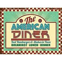 The Americano Diner. bordo della strada caffè,