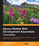 Key Features        Build websites with jQuery Mobile that work beautifully across a wide range of mobile devices     Become a competent jQuery Mobile developer and learn the building blocks of jQuery Mobile's component-driven design     This book...