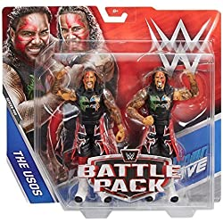 WWE Battle Pack Serie 44 Action Figures - I Fratelli Di Uso Jimmy Uso & Jey Osu