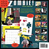 Image de Fold Your Own Zombie 2014 Wall Calendar