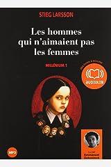 Les Hommes Qui N'Aimaient Pas les Femmes Millenium 1 Audio CD