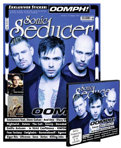 Sonic Seducer 06-12 mit CD im Digisleeve, Oomph!-Titelstory + Exklusivremix + exkl. Sticker, Bands: In Extremo + Exklusivtrack, Peter Heppner, And ... + CD im Digisleeve + exkl. Oomph!-Sticker
