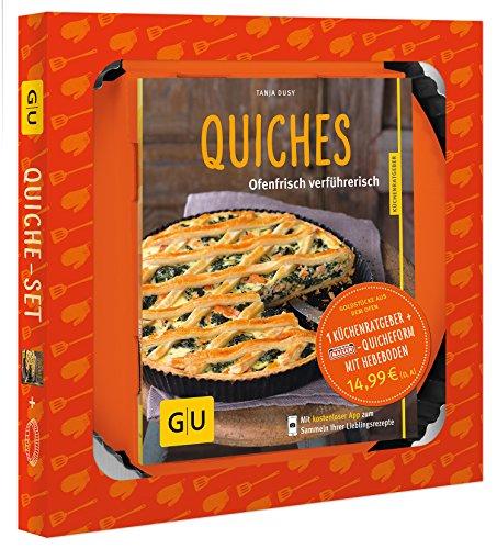 Quiche-Set: Plus 1 Kaiser-Quicheform Ø 28 cm (mit Hebeboden) (GU BuchPlus) - Fünf-sterne-küchenmaschine