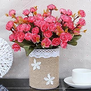 WANG-shunlida Gefälschte Blumen Fake Blume Ornament Wohnzimmer, Europäischen Stil Kleine, Frische Und Ornamentalen Blumen Und Topfpflanzen Imitation Blume, Afg