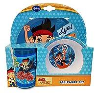 Disney Polypropylene Jakes Underwater Adventure Melamine Tableware, Set of 3, Multi-Colour