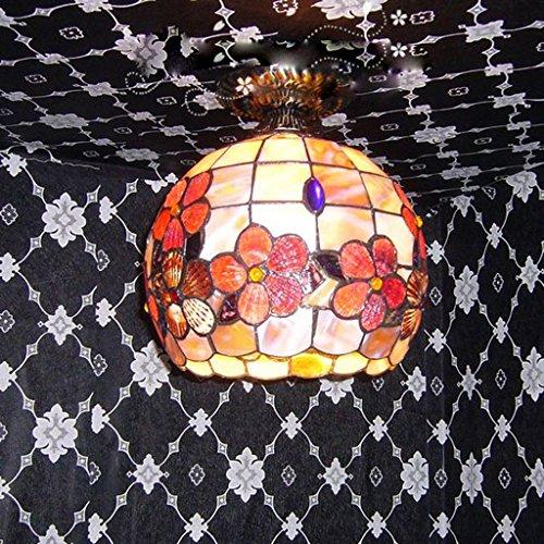 Mei Yi Lighting 10 Pollici Sfera Del Fiore Rich Natural Shell Sala Soffitto Corridoio Luci Portico Luci Balcone Luci