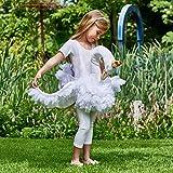 Generique - Schwanen Kostüm für Mädchen weiß Einheitsgröße