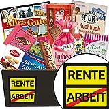 Rente | Süssigkeiten Geschenk | Geschenkkorb | Rente | Ossi Paket | Rente Geschenke Frauen | mit Puffreis Schokolade, Zetti und mehr
