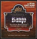 GHS PF185 Jeu de 5 cordes pour Banjo