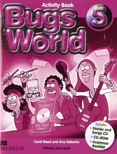 Bugs World 5 Activity Book + Pack Cds - 9780230407633
