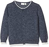 NAME IT Baby-Jungen Strickjacke Nitfeson LS Knit Card NB, Blau (Insignia Blue), 74