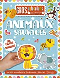 Animaux sauvages : Gros autocollants...