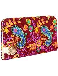 Sheetal Handicrafts Women's Clutch (Multi-Coloured, Hand Wallet_1)