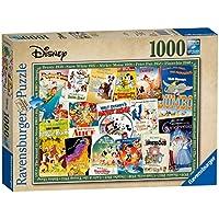 Ravensburger Disney Vintage Movie Posters, 1000pc Jigsaw Puzzle