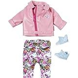 Baby Born Deluxe Scooter Outfit voor Poppen van 43 cm - Bevordert Creativiteit, Empathie & Sociale Vaardigheden, Vanaf 3 Jaar