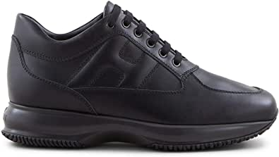 Hogan - Sneakers Uomo Interactive Nera in Pelle - HXM00N00010KLAB999 - Taglia