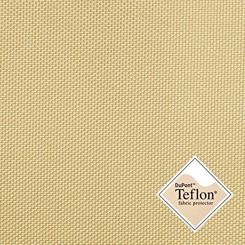 Breaker Teflon® - Tela repelente al agua - A prueba de viento - Muy robusta (color beige) (por metro)