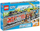 LEGO City - 60098 - Jeu De Construction - Le Train de Marchandises Rouge
